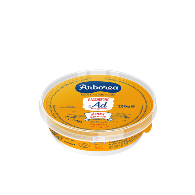 Mascarpone senza lattosio 250g Arborea