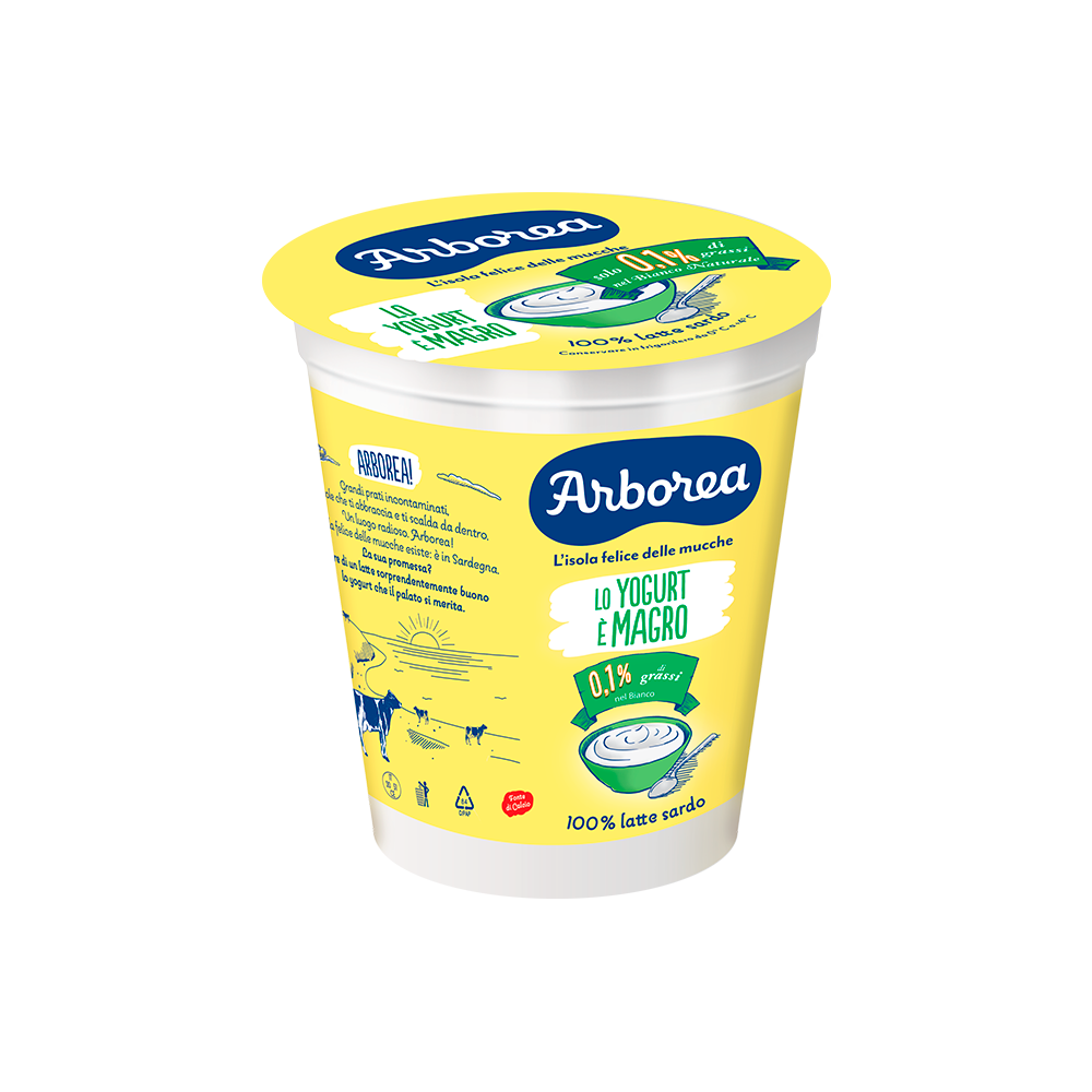 yogurt magro bianco