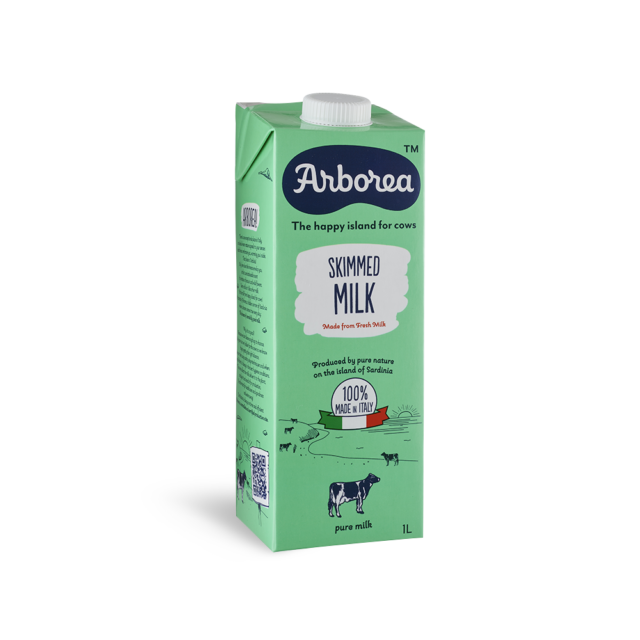 skimmed-milk